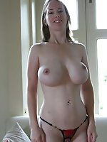 Adorable aged mommies posing totally nude on picture