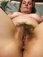 Immoral mom spreading her pussy lips