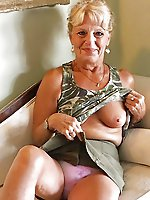 Hottest older woman demonstrating her skills