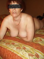 Lascivious older woman get ready for sex