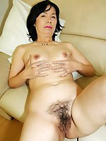 Shameless mature businesswomen getting nude on photo