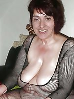 Erotic old slut baring it all on pics