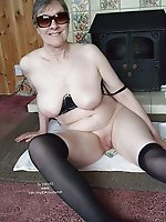 Sexy mature housewives enjoying posing
