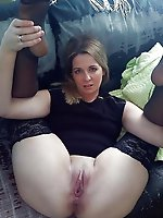 Crazy mature housewife in sexy underwear