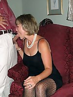 Voluptuous mature woman cheating like a pro