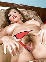 Adored mature girls in their solo play