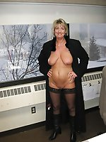 Mature gilfs get undressed for you