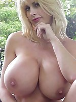 Posh mature cuties getting naked on camera