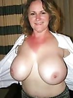 Adored mature cougar with big breasts