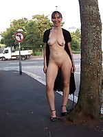Libidinous mature females fucked in public
