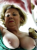 Mature strumpets in sexy dress