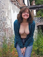 Impressive mature mamas having giant breasts