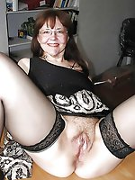 Randy mature MILFs showing their hot body on camera