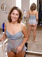 Sensational MILFs getting pleasured on camera