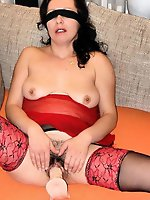 Outstanding older housewives like a tasty cock very much