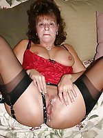 Sensuous older damsels for any taste