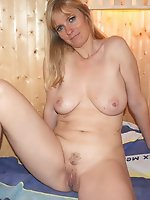 Mature momma enjoying sex so much