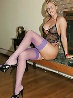 Horny mature damsels get ready for anything