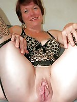 Horny experienced whore enjoying posing