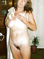 Naughtiest mature female in hot panties