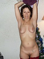Fantastic gilf playing with her hooters