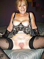 Elegant experienced milfs getting undressed on pics