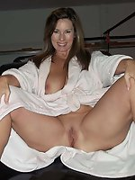 Mature MILFs get undressed