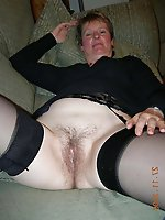 Busty older whore get undressed