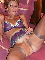 Mature female was fucked