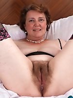 Mature mademoiselle getting naked