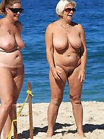 Enchanting mature milfs in their solo play